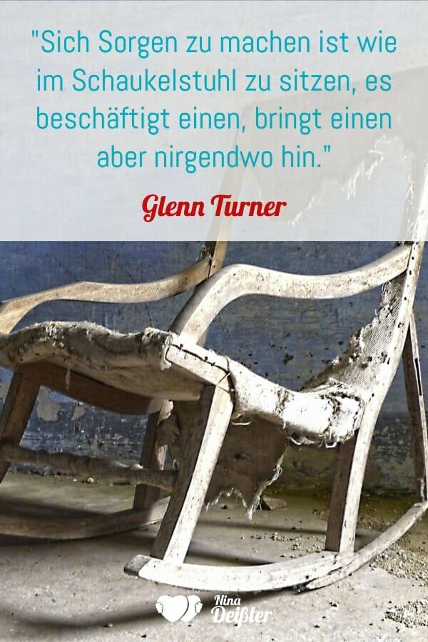Schaukelstuhl Sorgen Nina Deissler Glenn Turner