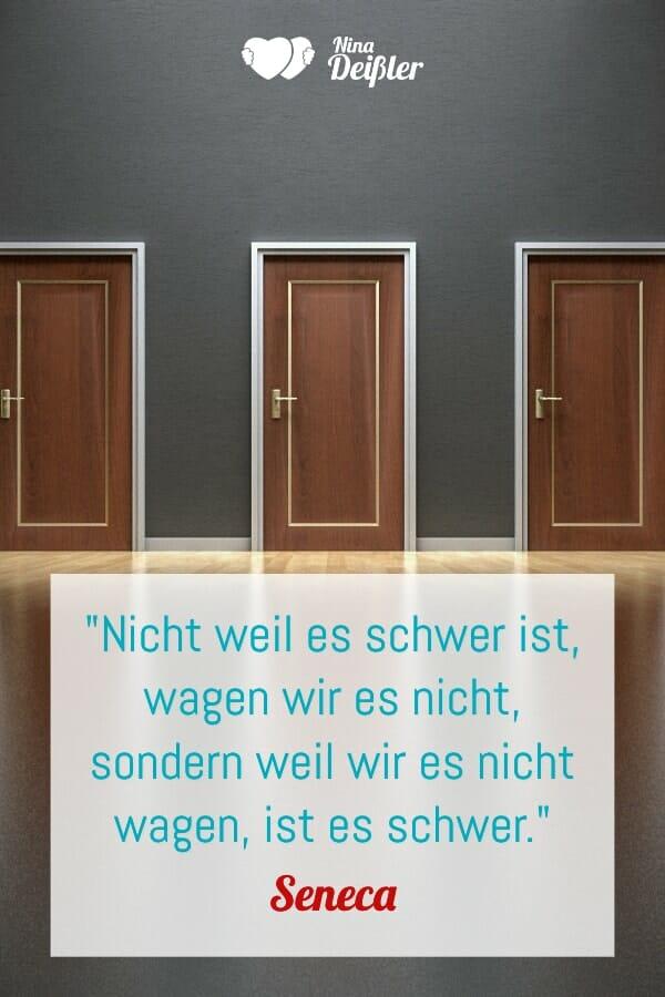 Zitat Nina Deißler Veränderung Seneca