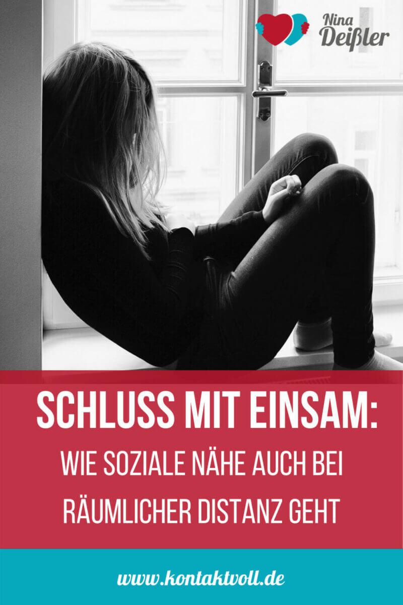 Schluss mit einsam - Nina Deissler