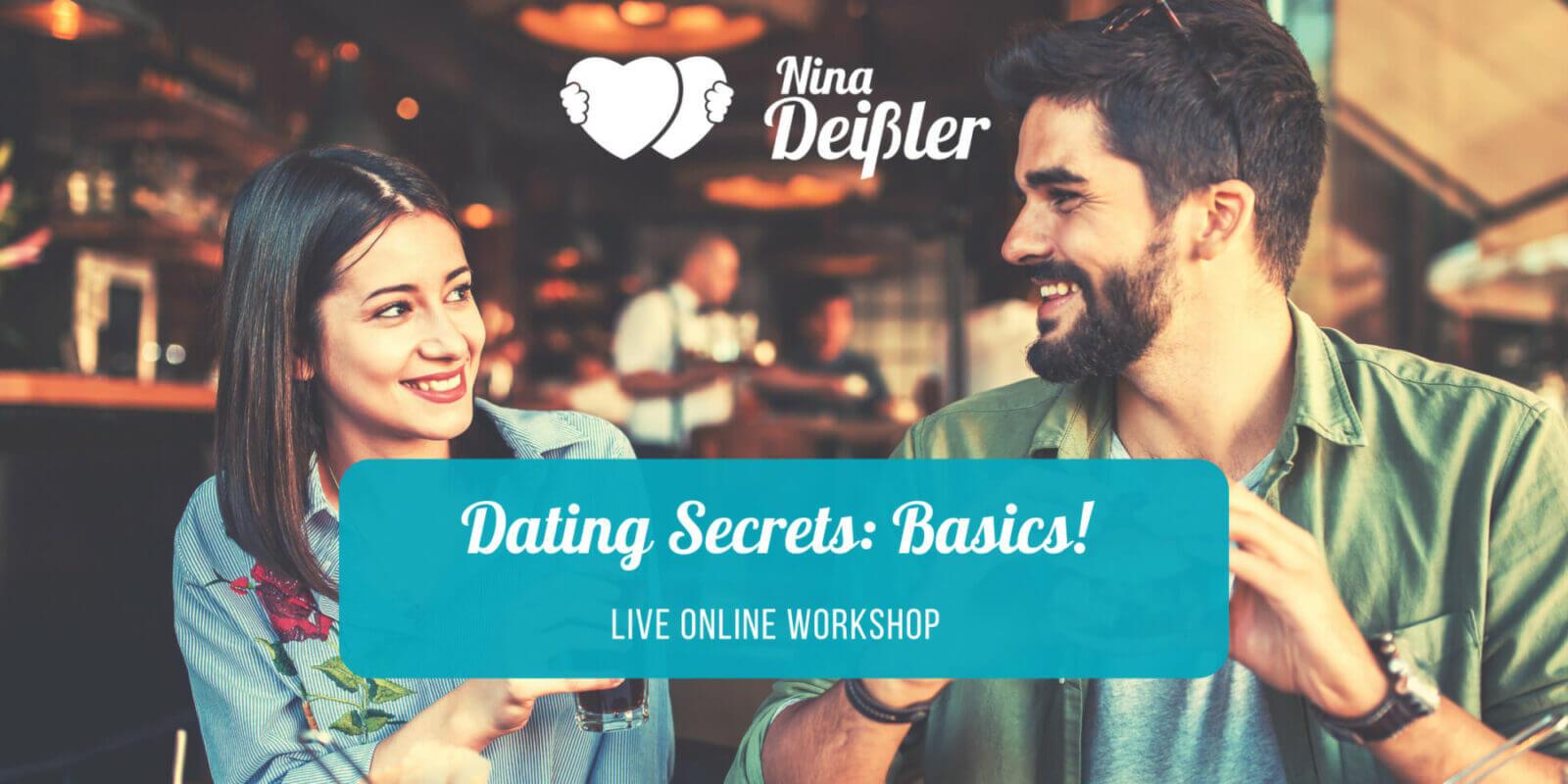Dating Secrets – der live Online-Workshop für besseres Kennenlernen