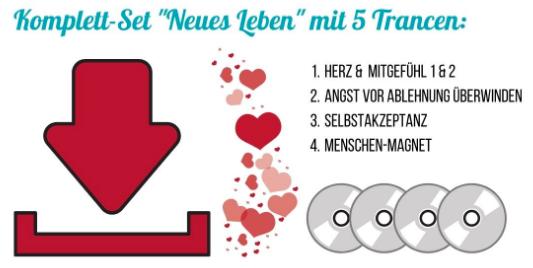 "Komplett-Set ""Neues Leben"" mit 5 Trancen"